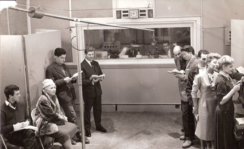 Radio Alger - Le Studio des dramatiques - 1958