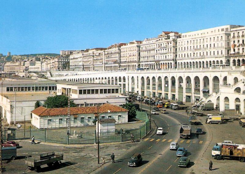 Alger - Le boulevard front de mer