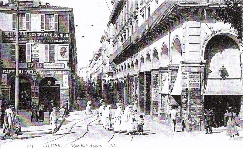 La rue Bab-Azoun