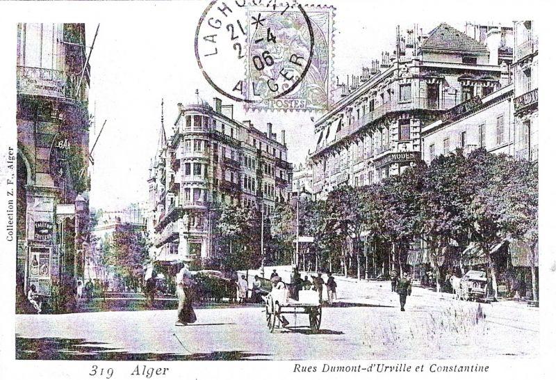 La rue Dumont d'Urville