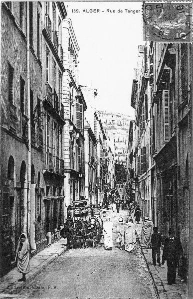 La rue de Tanger