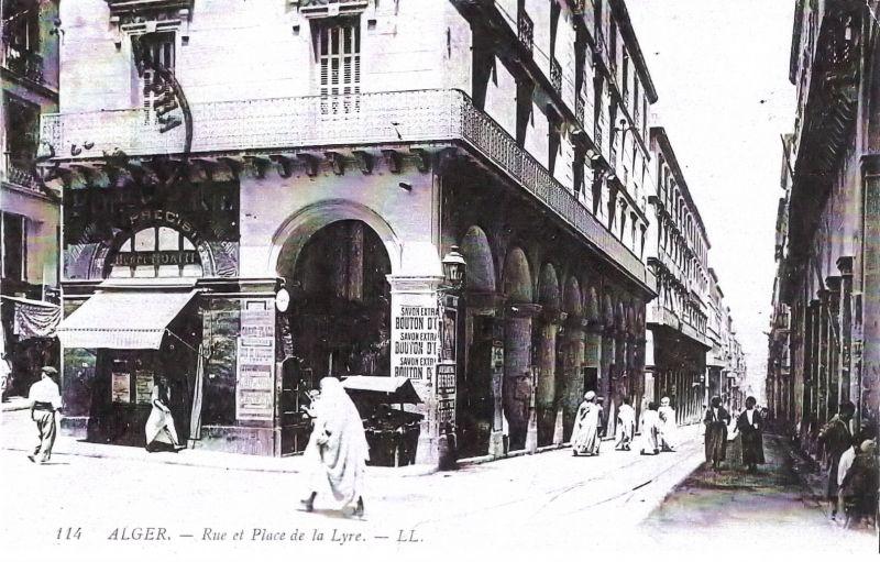 La rue de la Lyre