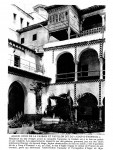 """<b>Alger cour de la Casbah et du Pavillon dit du """"Coup d'éventail""""</b> <br />"""