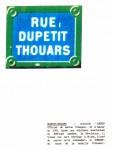 <b>Rue Dupetit Thouars</b> <br />